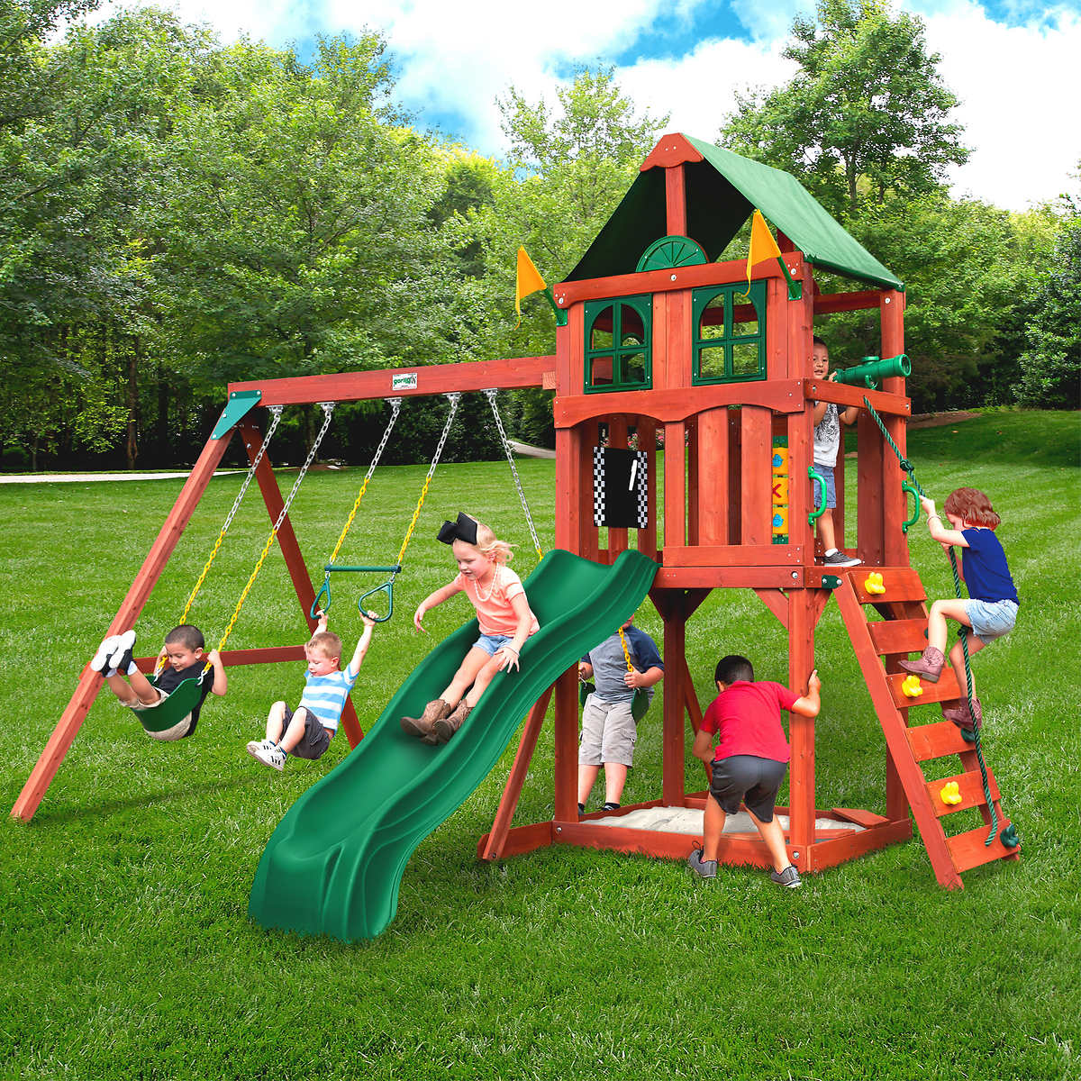 gorilla playsets playmaker playset do it yourself