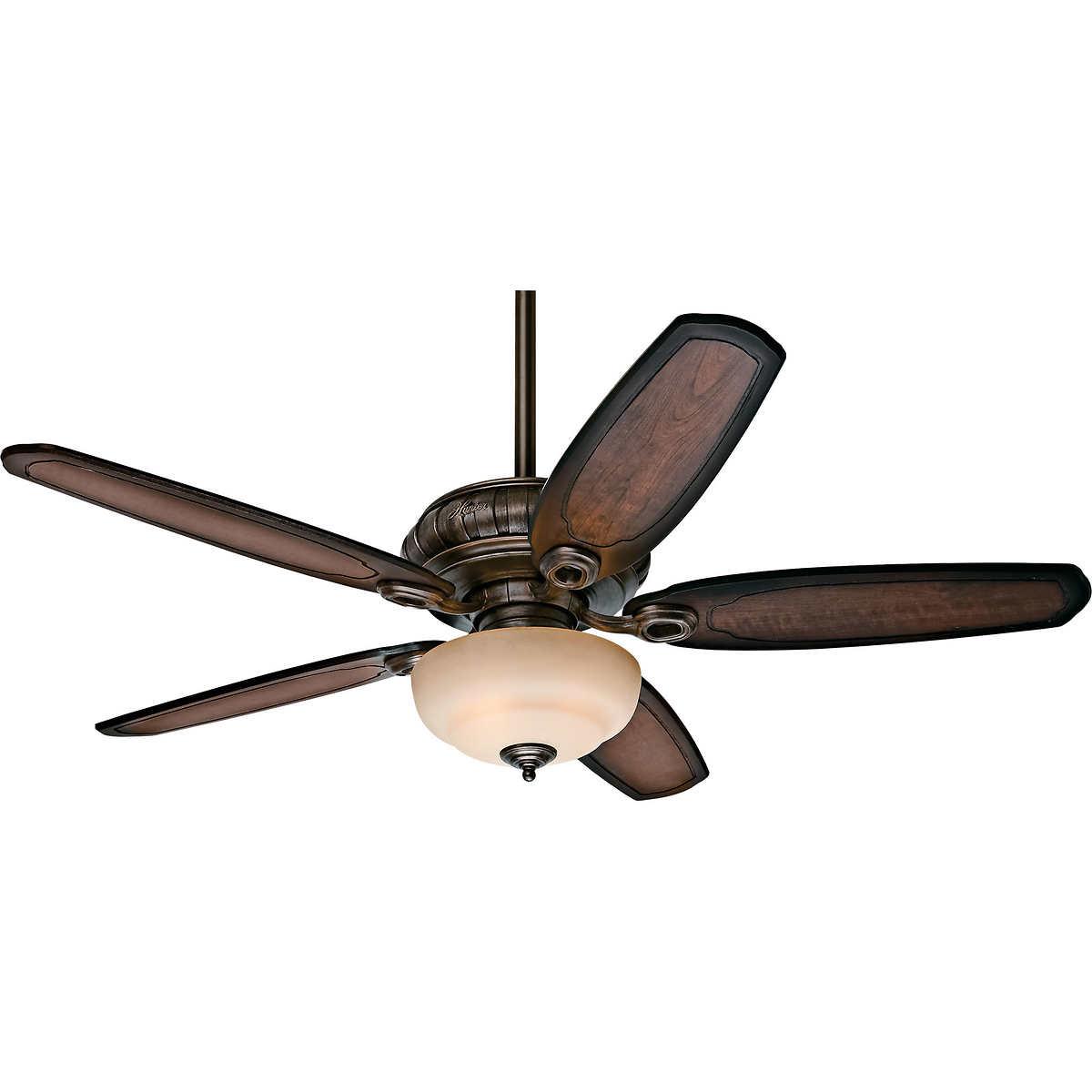 "hunter avia 54"" led indoor ceiling fan"