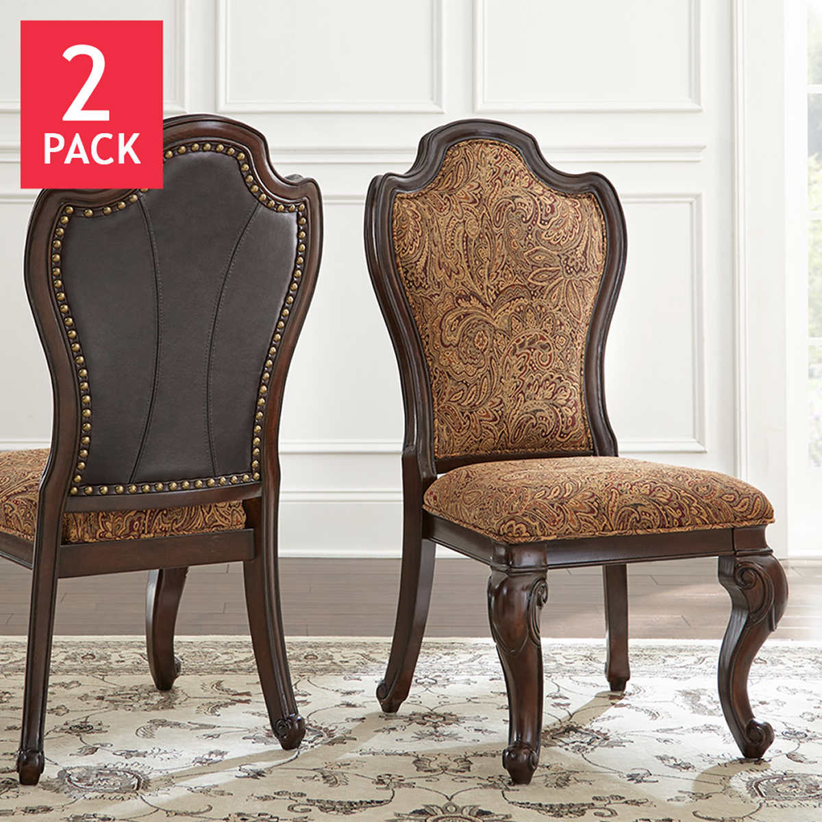 Dining Chairs Brown dining chairs | costco