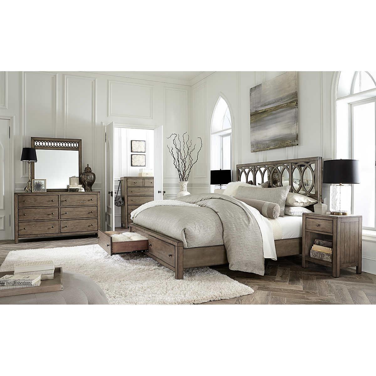 Bedroom Sets Queen queen bedroom sets | costco