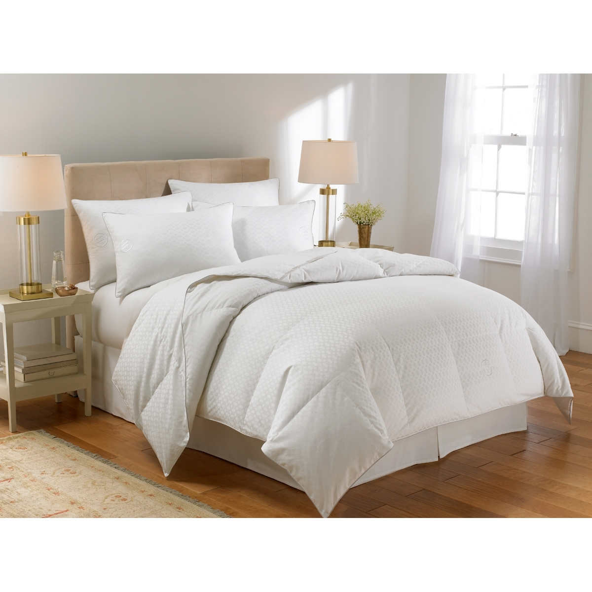 comforters costco waverly modern 300tc down alternative comforter with dream essence