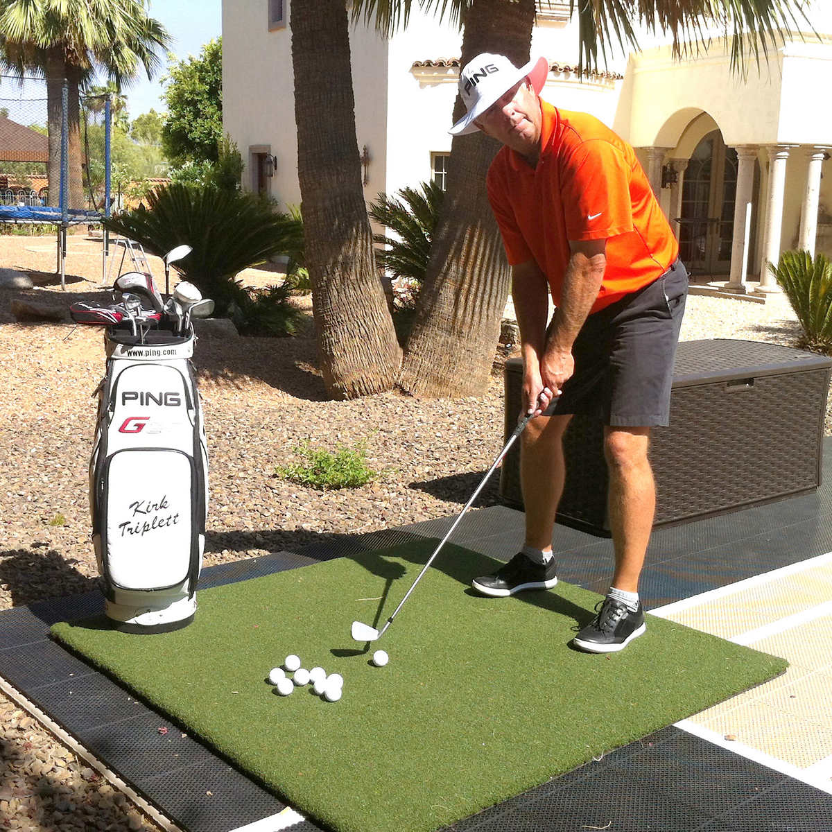 country club elite golf mats