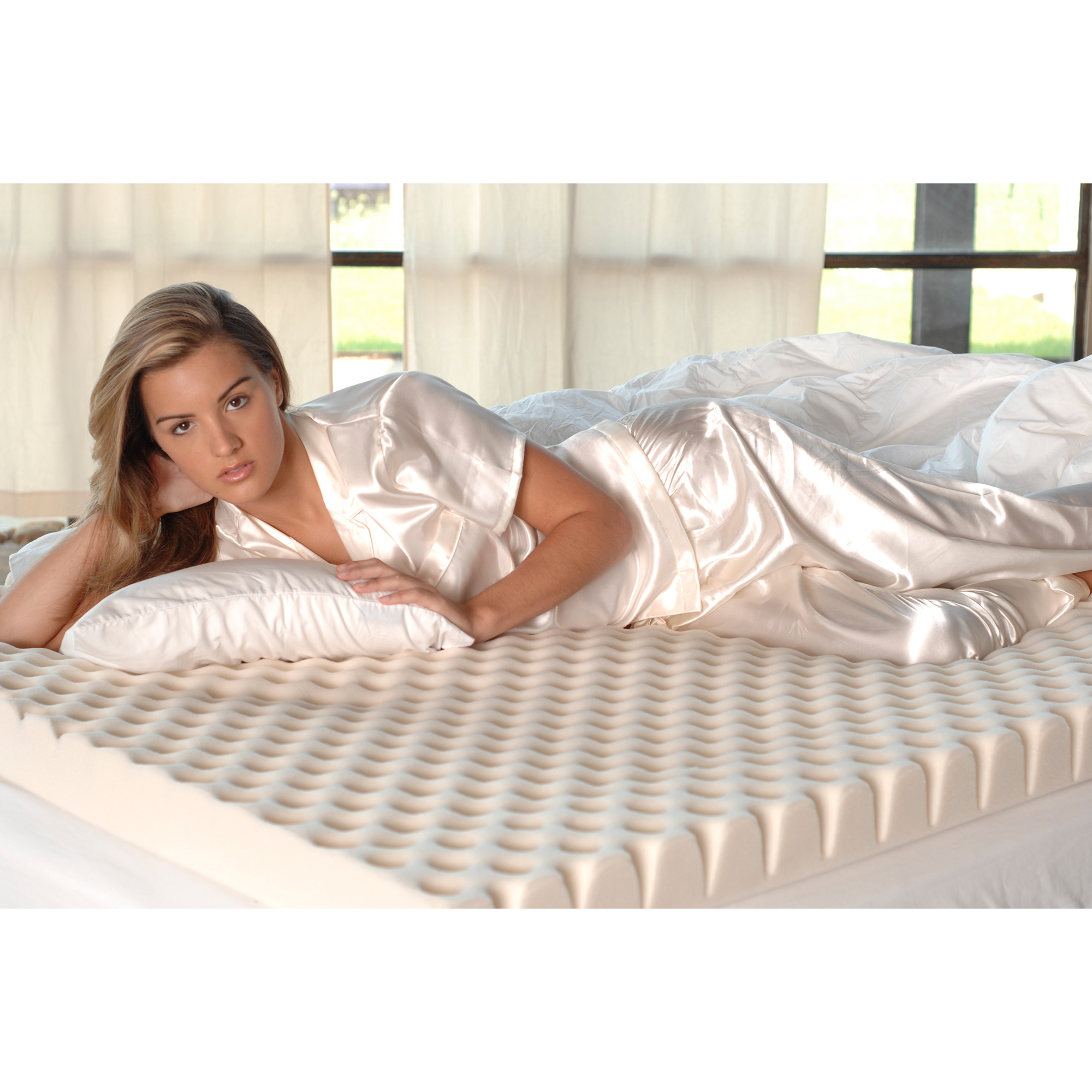 """Isotonic Iso Cool Mattress Topper SleepBetter Iso-Cool by Isotonic 3"""" Total Body Comfort ..."""