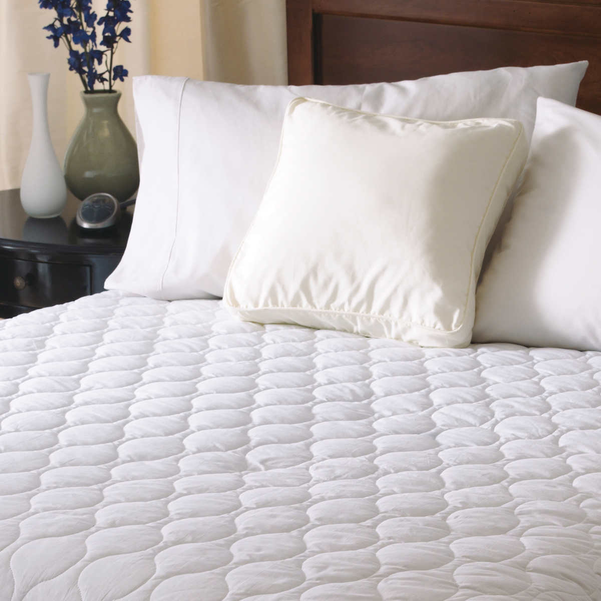 sunbeam waterproof heated mattress pad queen | ebay