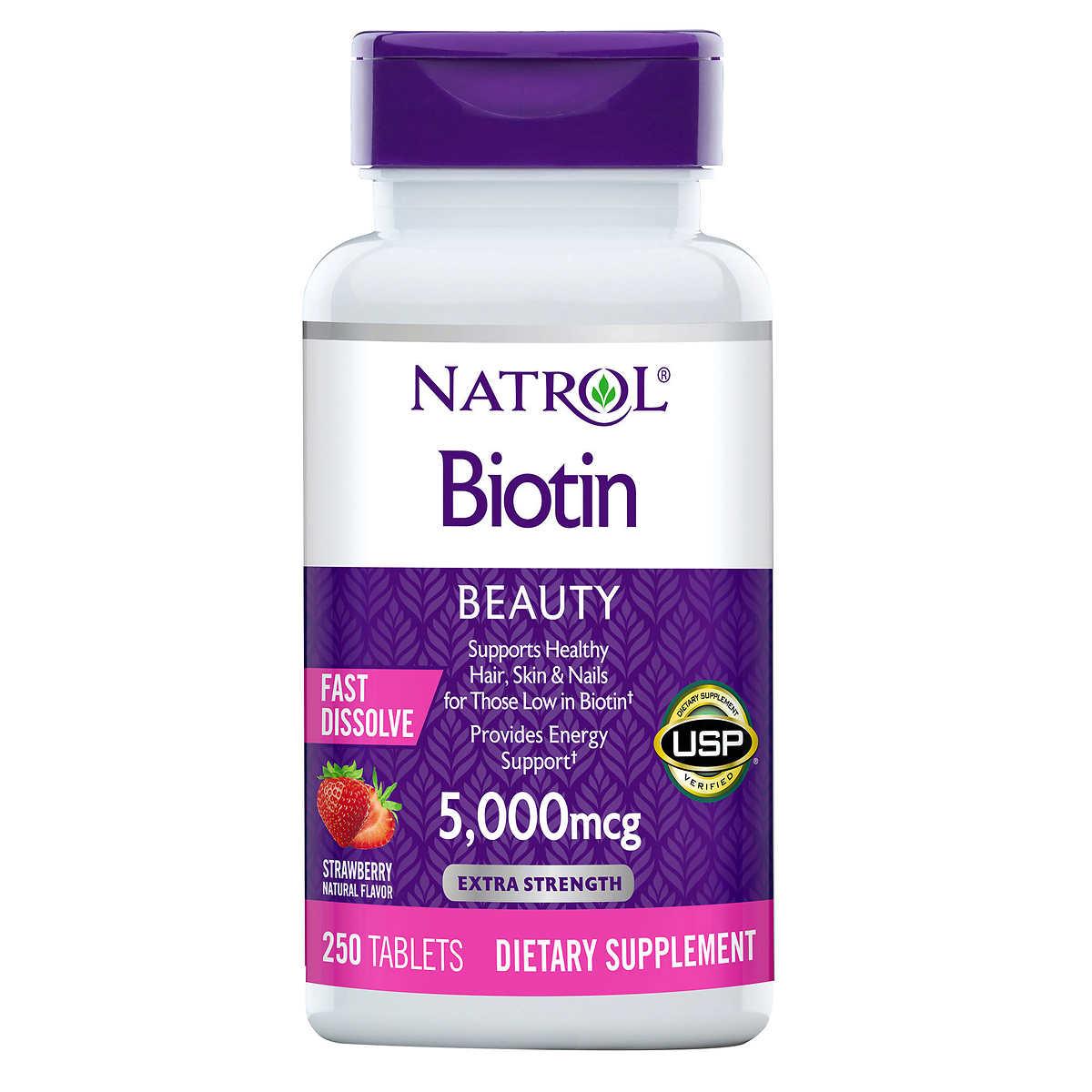 Image result for natrol biotin