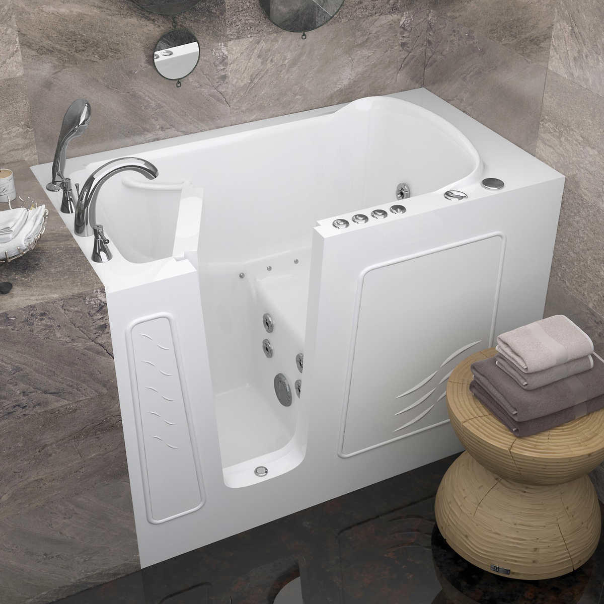 Bathroom Mirrors Costco access tubs walk-in dual system tub