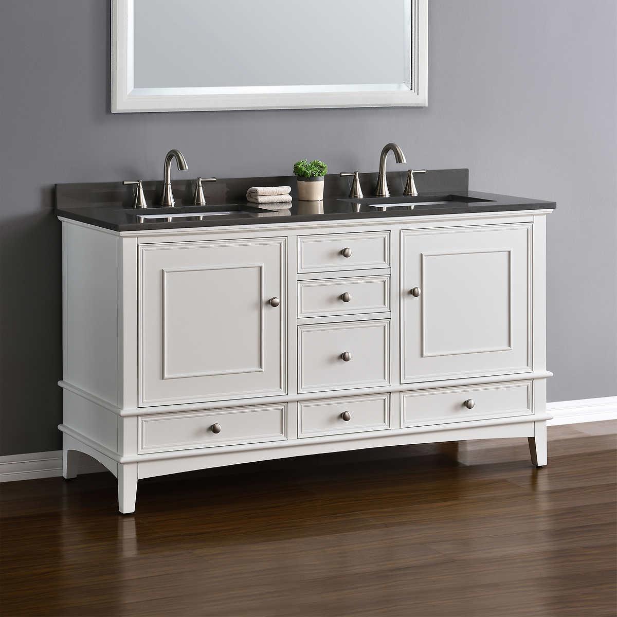 double sink vanities | costco