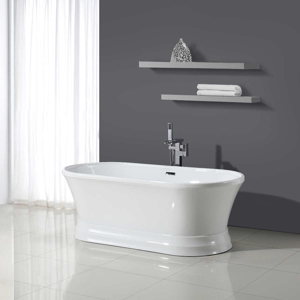 Freestanding Bath Tub Treece Acrylic Freestanding TubTreece