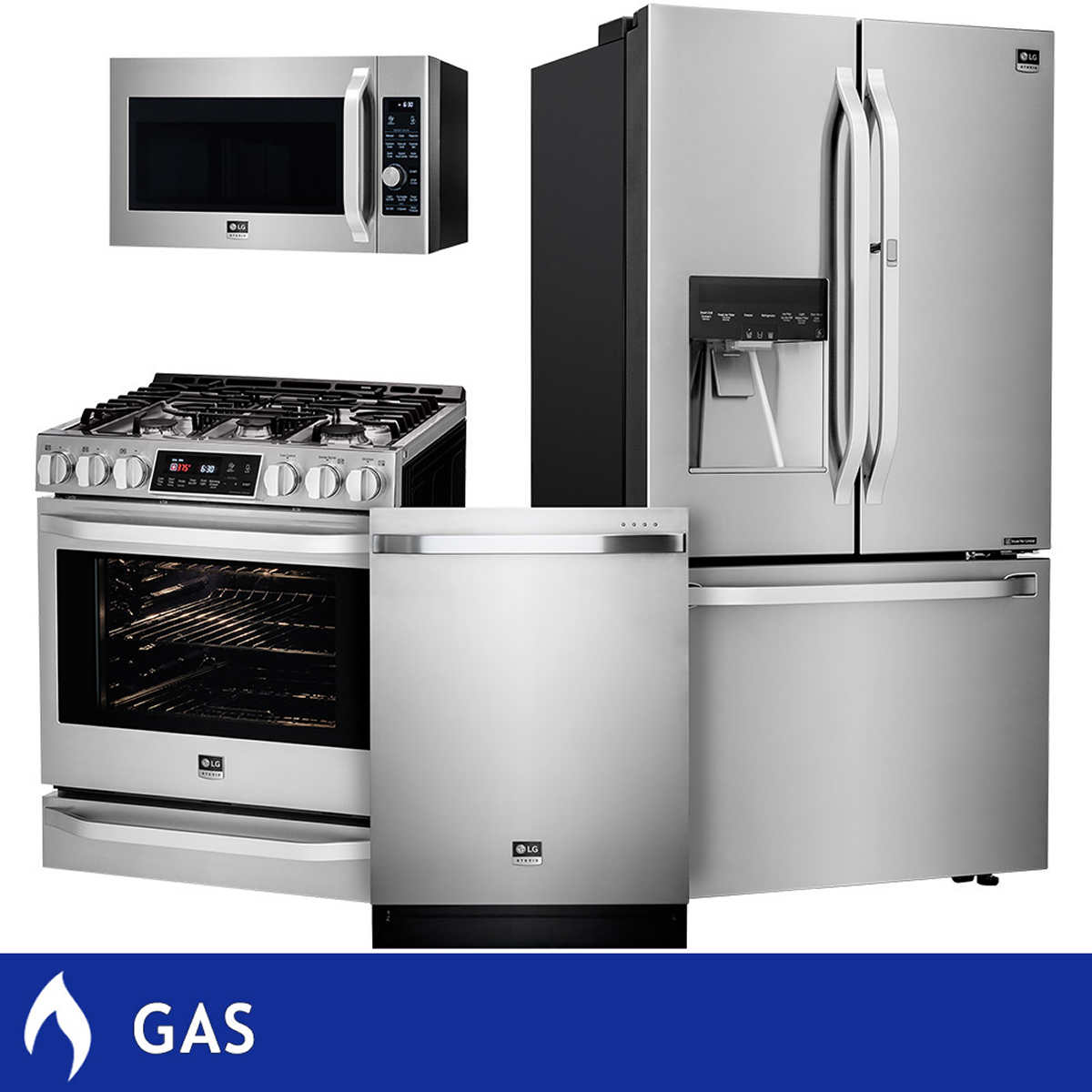 kitchen suites with gas range | costco