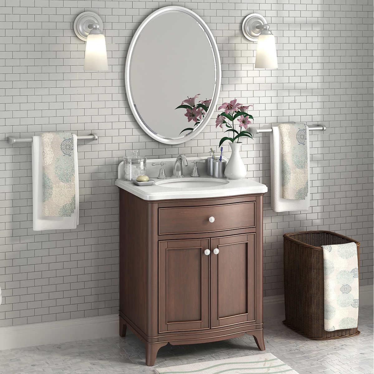Bathroom Mirrors Costco lanza vanities | costco