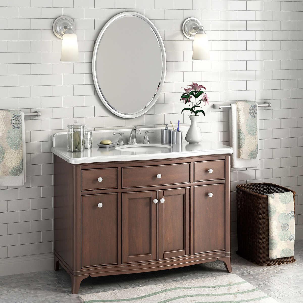 Bathroom Single Sink Vanity single sink vanities | costco