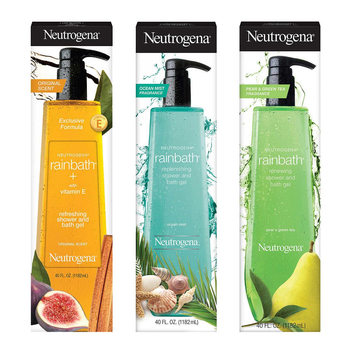 neutrogena rainbath shower gel 40 fl oz