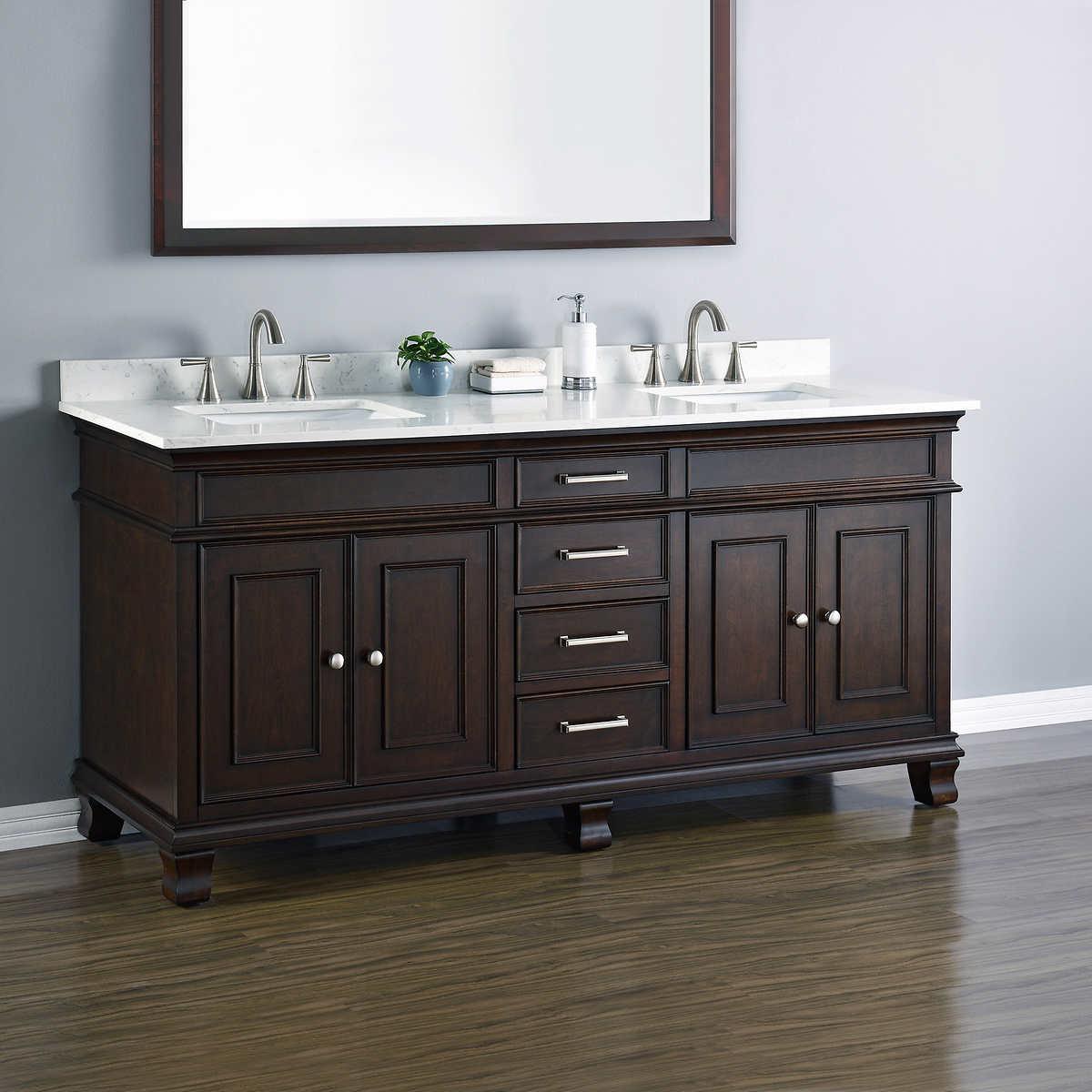 Bathroom Cabinets Costco 72 in. vanities | costco