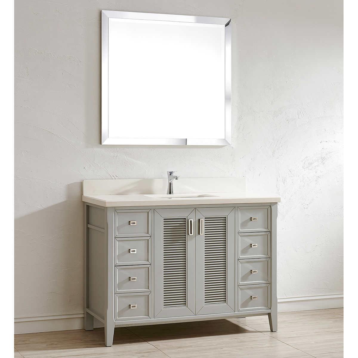 single sink vanities | costco
