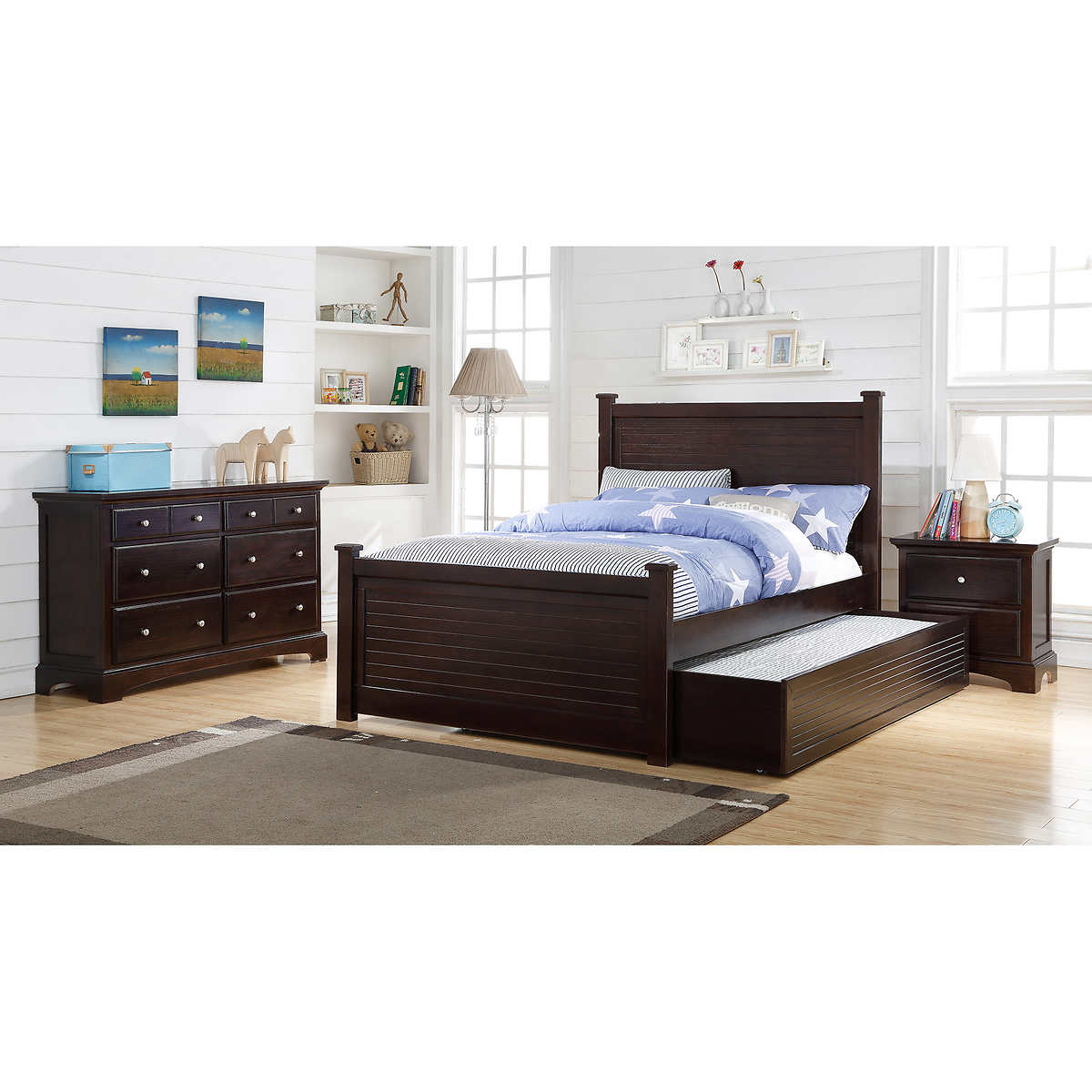Hunter 3 Piece Full Bedroom Set