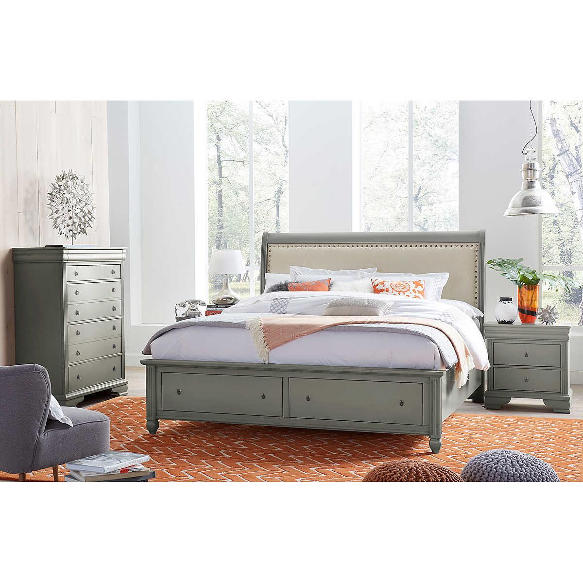 Carlisle 4-piece King Storage Bedroom Set