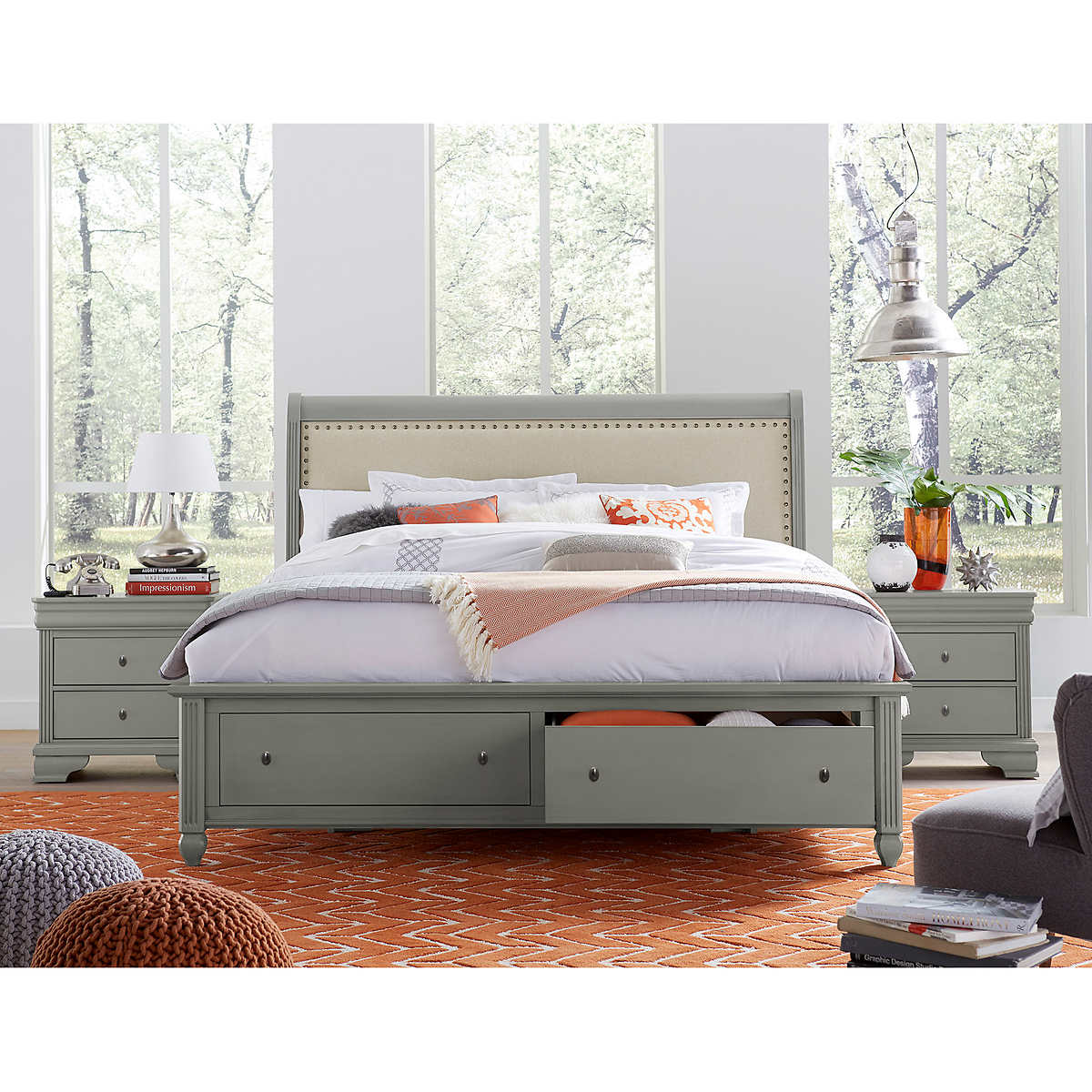 Carlisle 3-piece Queen Storage Bedroom Set