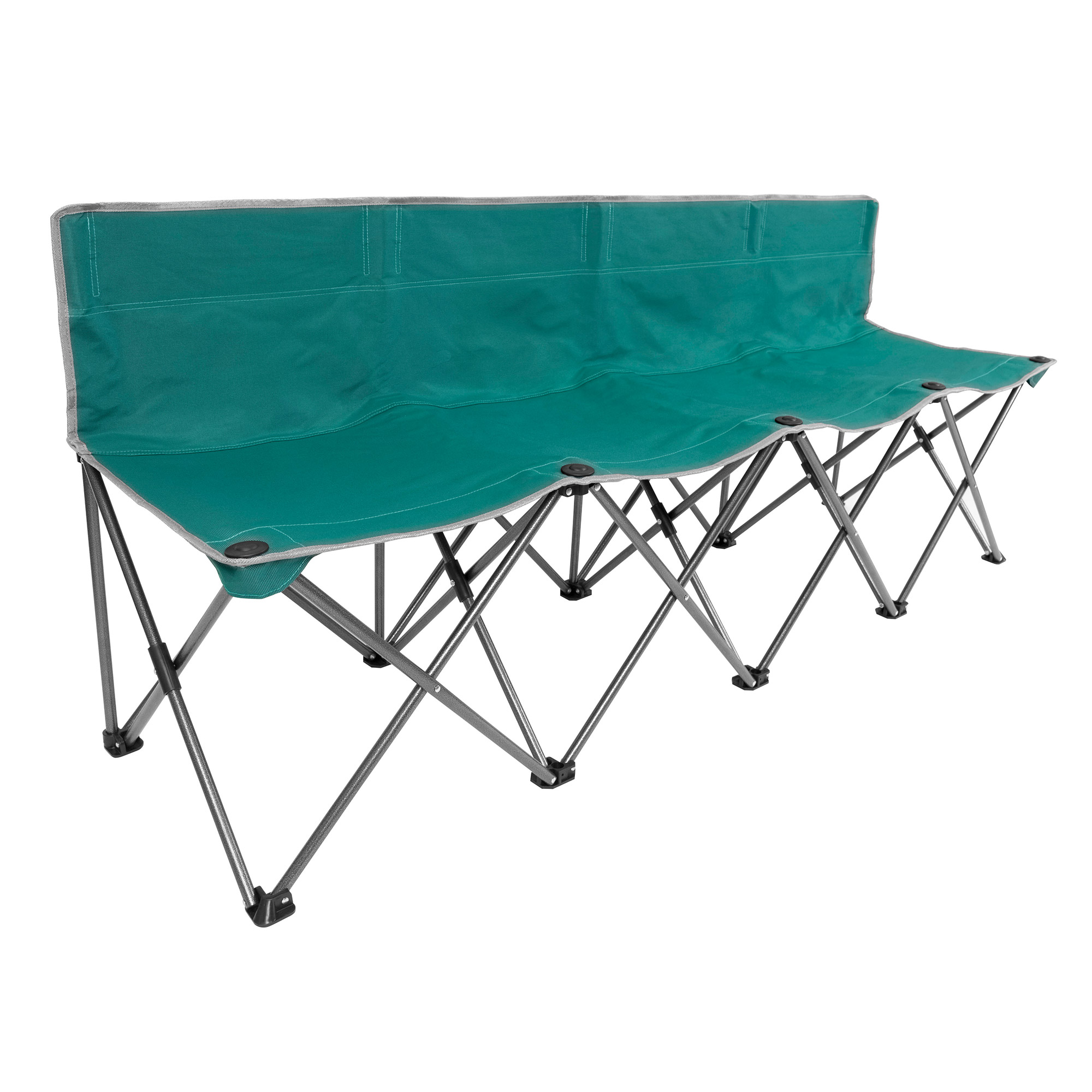 Folding 4 Person Team Bench Outdoor Beach Camping Hiking Picnic Bench Chair Ebay