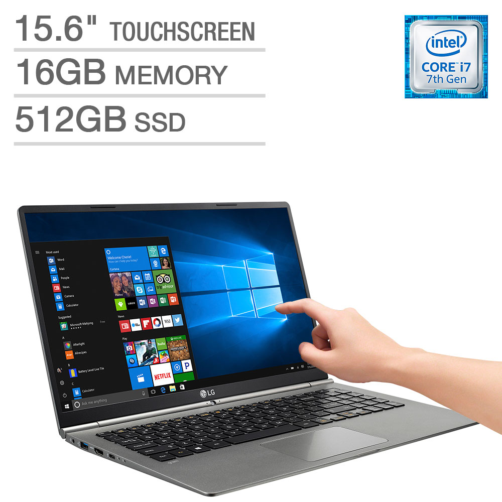 lg gram 15 15 6 touchscreen laptop intel core i7 16gb memory 512gb ssd 719192611108 ebay. Black Bedroom Furniture Sets. Home Design Ideas