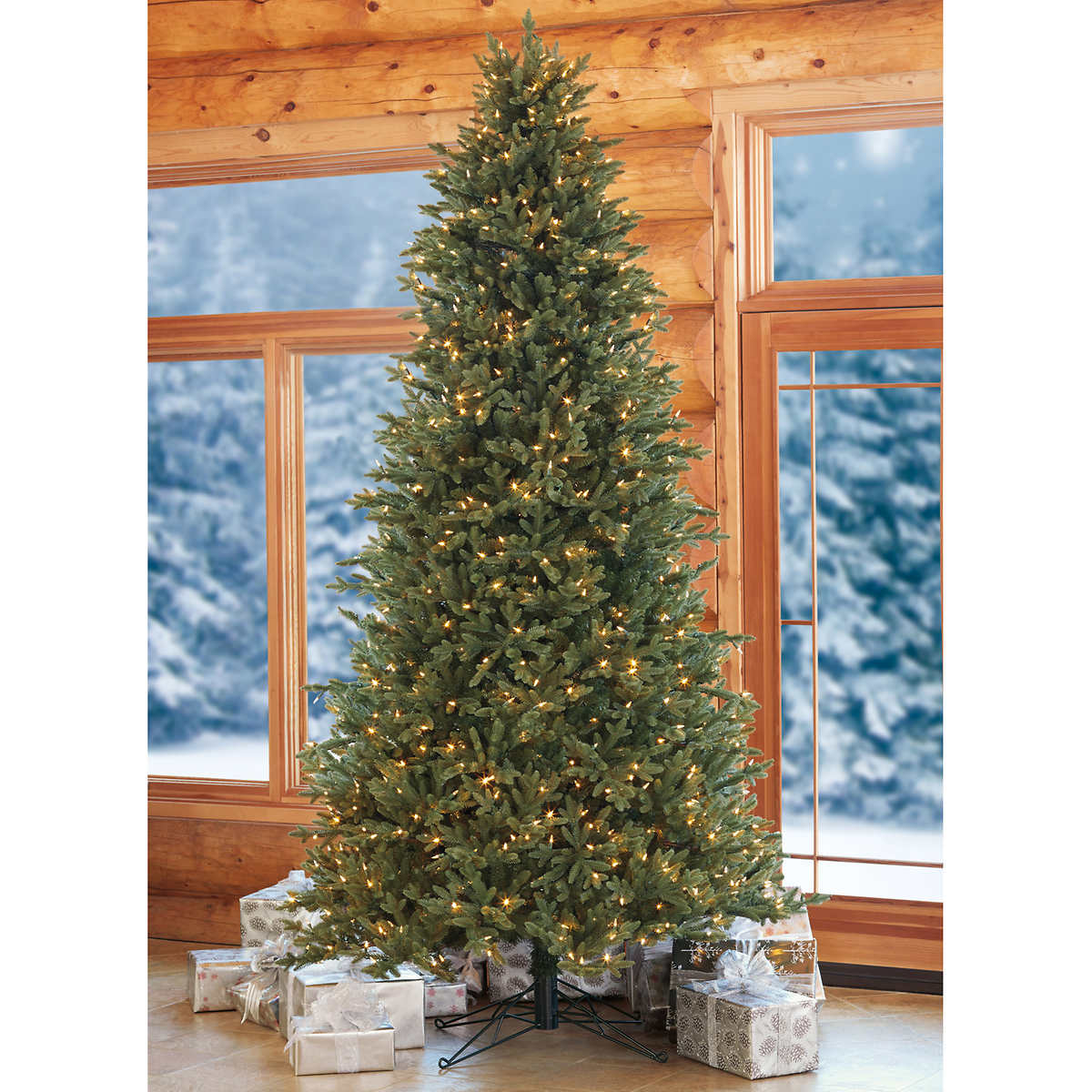 pre lit christmas tree item 1455658 click to zoom - Pre Lighted Christmas Trees