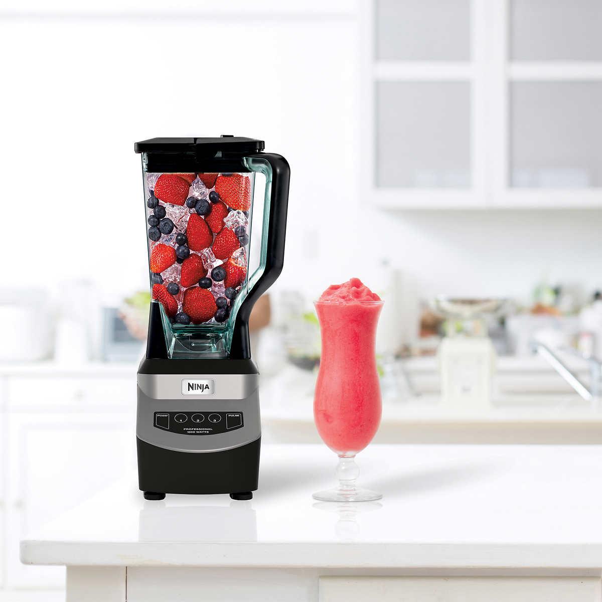 Ninja mega kitchen system 1500w 2hp food processor blender bl773co - Member Only Item Ninja Professional 1000 Watt Blender