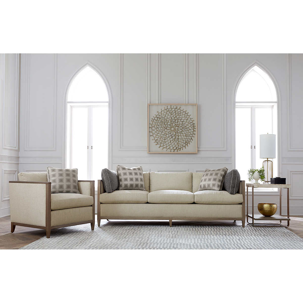 Living Room Bed Fabric Sofas Sectionals