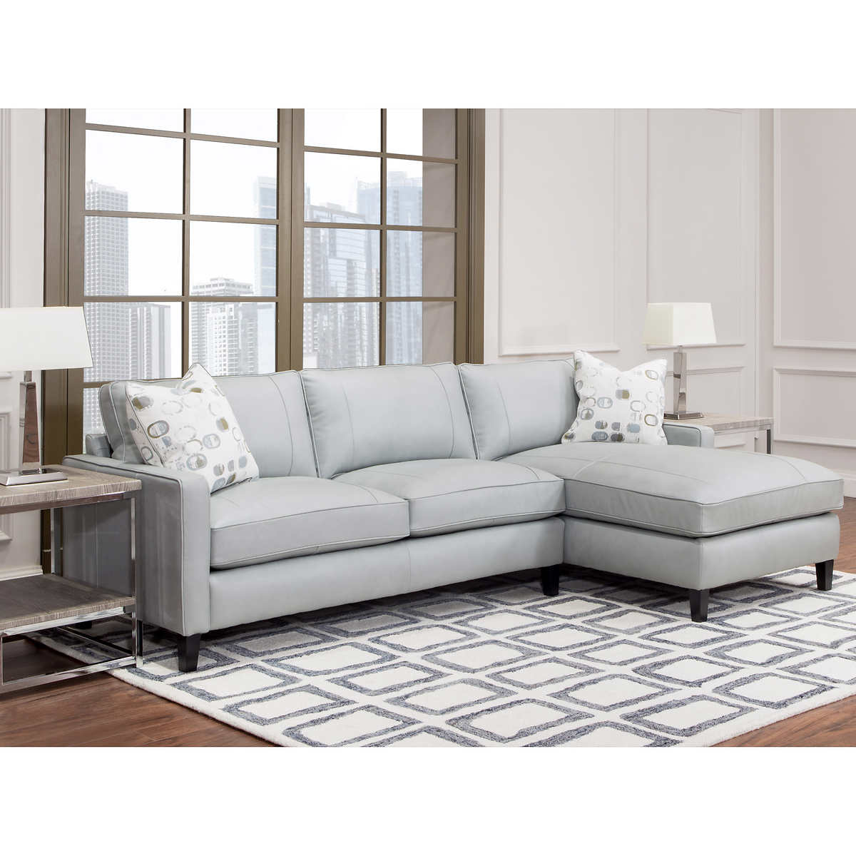 Leather Sectional Living Room Leather Sofas Sectionals