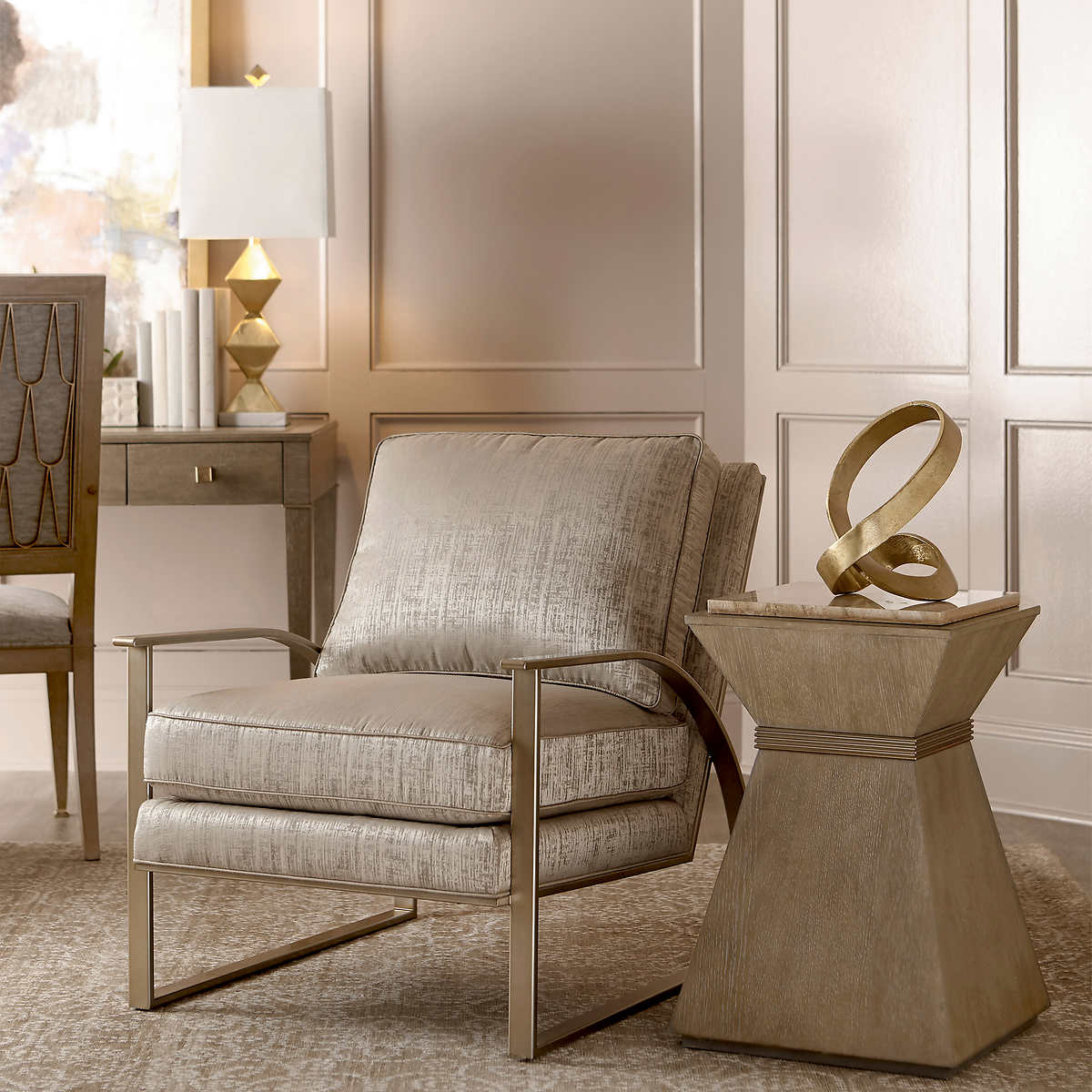 Silver Lake 2 Pack Fabric Chairs