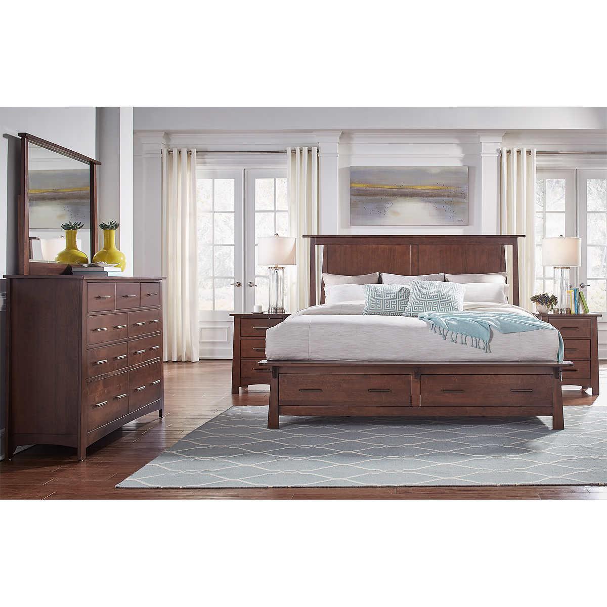 Callie 5-piece Queen Storage Bedroom Set