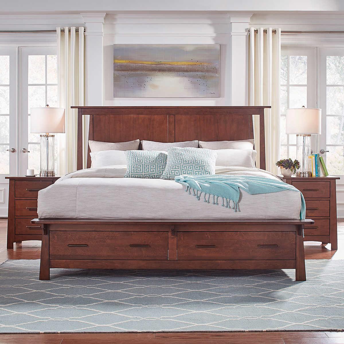 Callie 3-piece Queen Storage Bedroom Set
