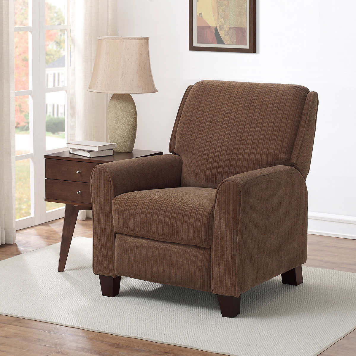 Conway Fabric Pushback Recliner - Recliners Costco