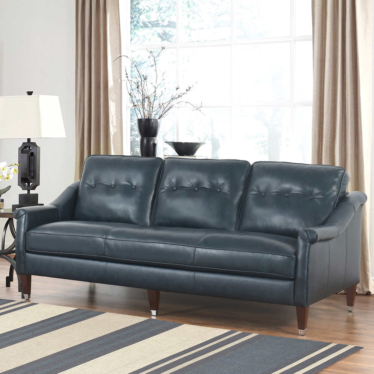 Leather Chair Living Room Leather Sofas Sectionals