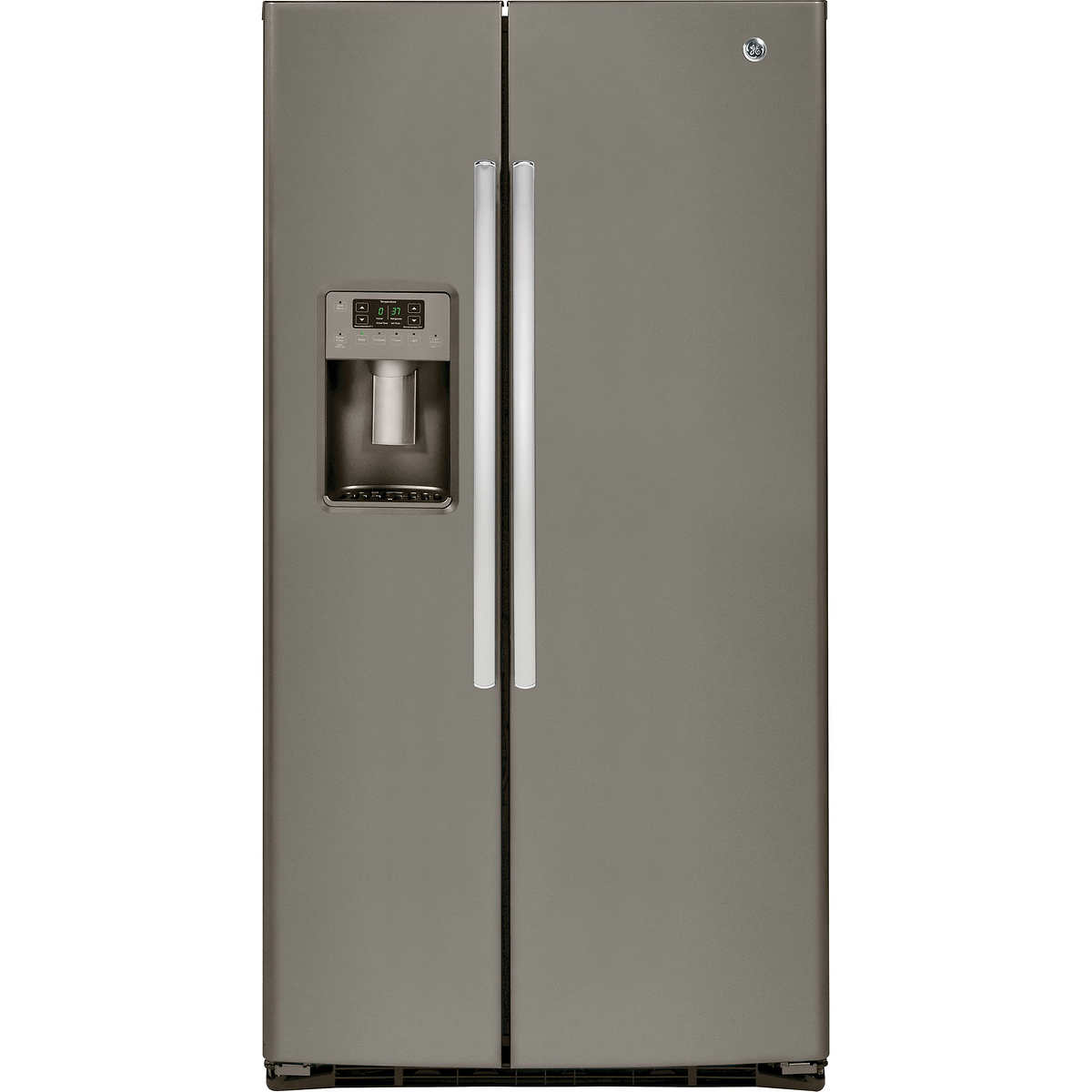 Ge Service Phone Number Ge 254 Cuft Side By Side Refrigerator In Stainless Steel