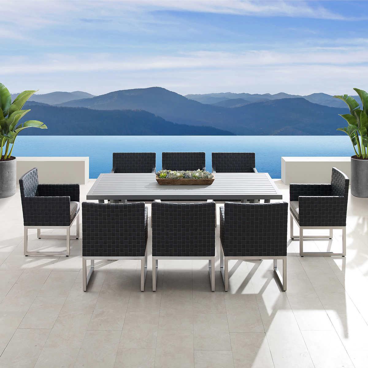 Soho 9-piece Dining Set by Sirio - Dining Sets