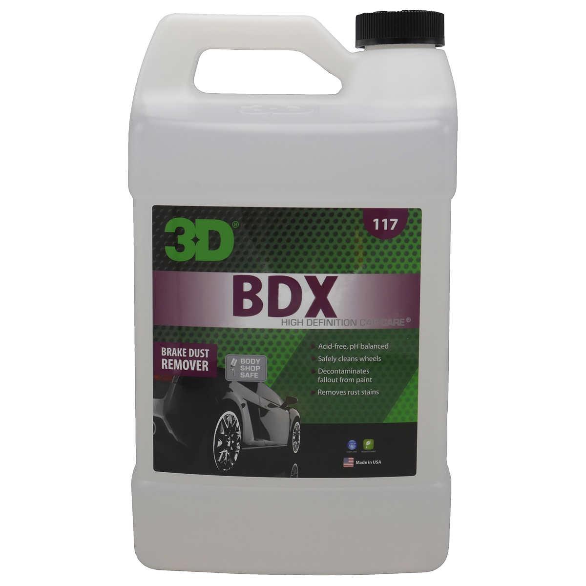 3d bdx brake dust cleaner one gallon refill