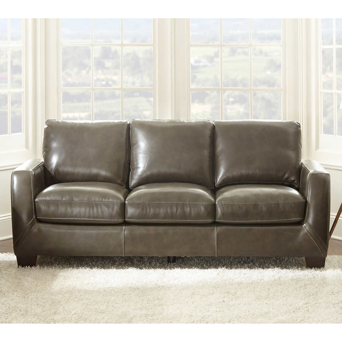 Incredible Sheldon Top Grain Leather Sofa Ocoug Best Dining Table And Chair Ideas Images Ocougorg
