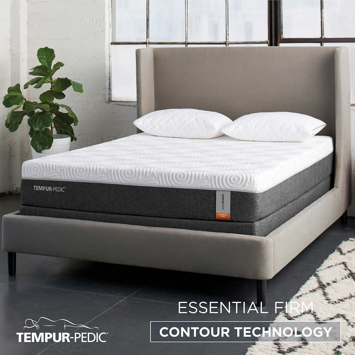 Tempur Pedic Essential Firm 10 Cal King Mattress Only Item 1163620 Click To Zoom