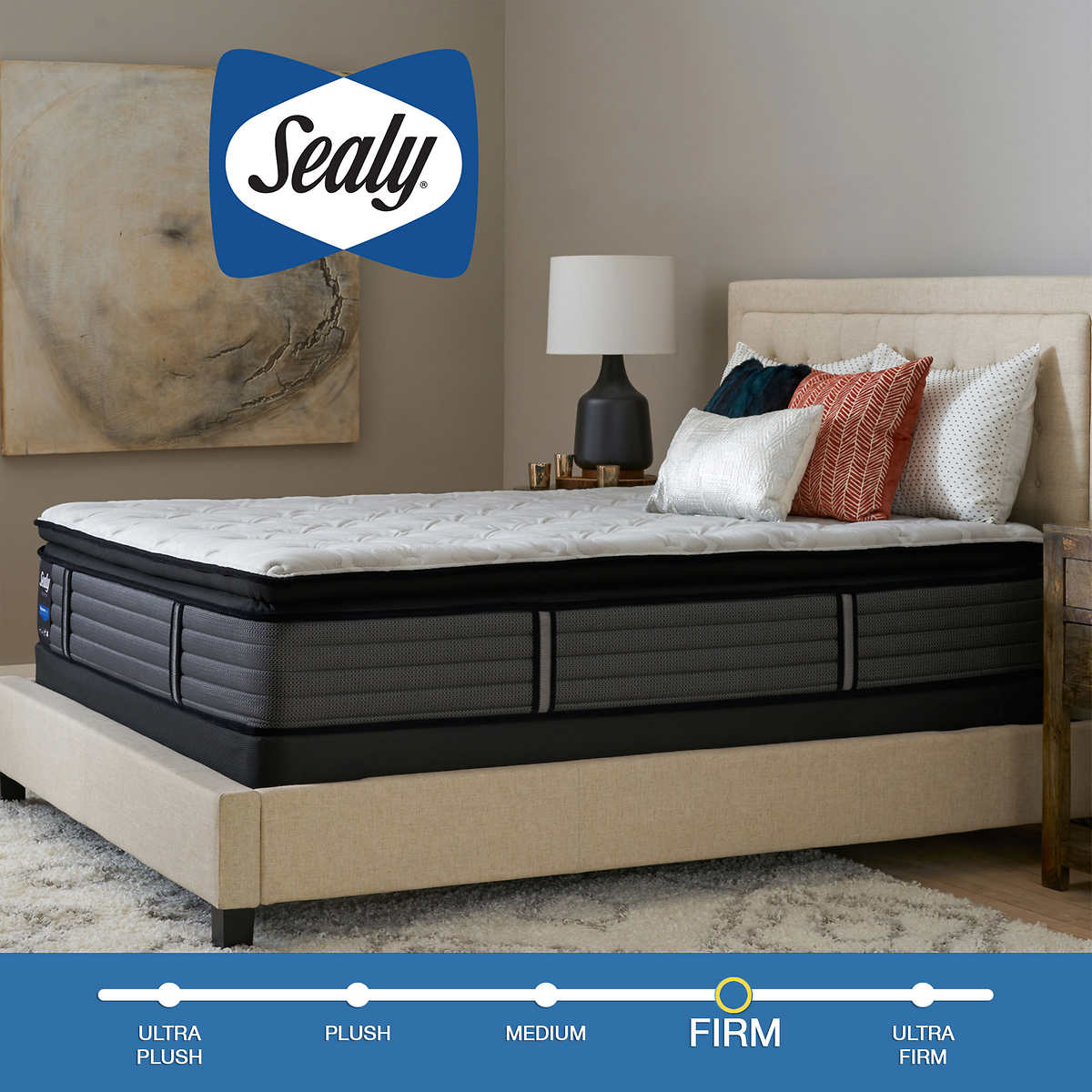 Sealy Response Premium Ridge Crest Firm King Mattress and