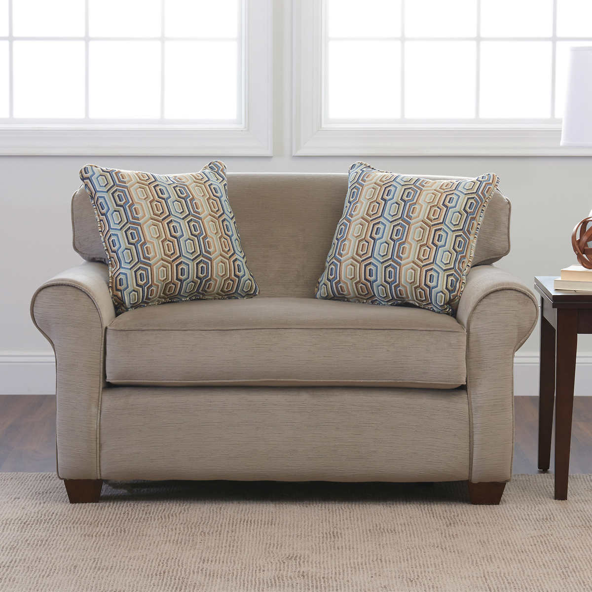Costco sectional sleeper sofa for Beeson fabric queen sleeper chaise sofa