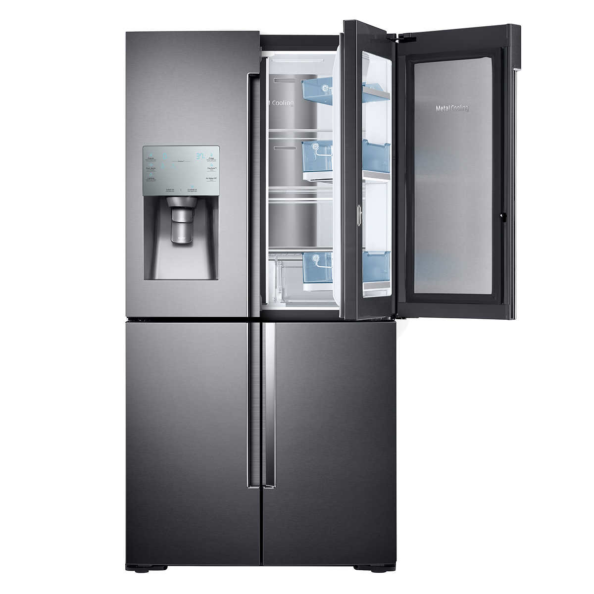 Glass Door Home Refrigerator Refrigerators Costco