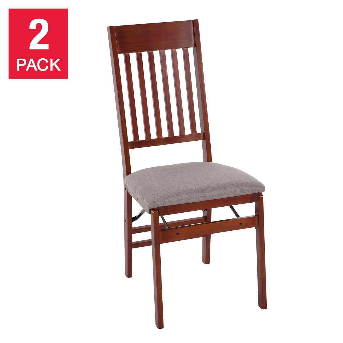 Mission Wood Folding Chairs 2 Pack