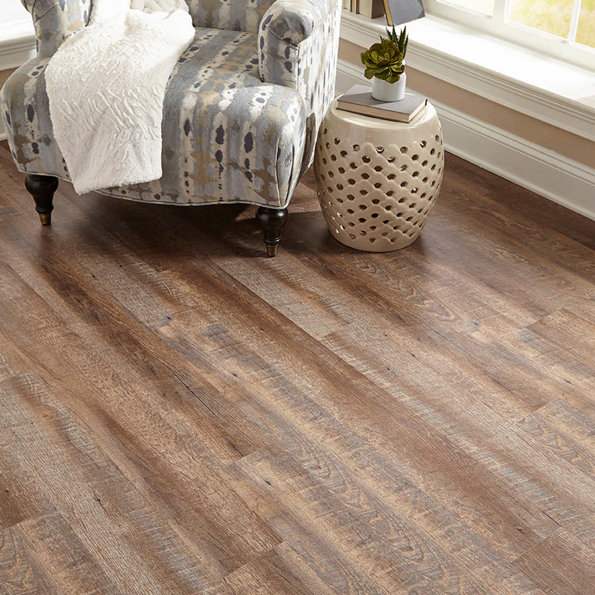 More Items To Consider Member Only Item Golden Arowana Jamestown Oak Hdpc Waterproof Plank Flooring