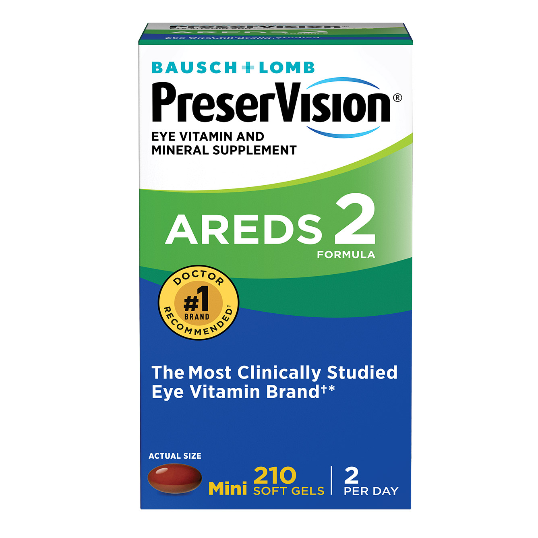 PreserVision AREDS 2 Formula, 210 Soft Gels