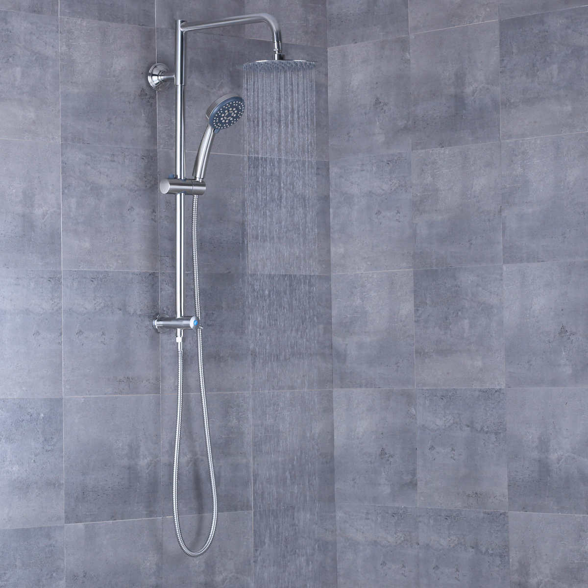 shower head and rain shower combo.  Rain Shower Head and Hand Combo Item 1183729 Click to Zoom AFA Stainless 8