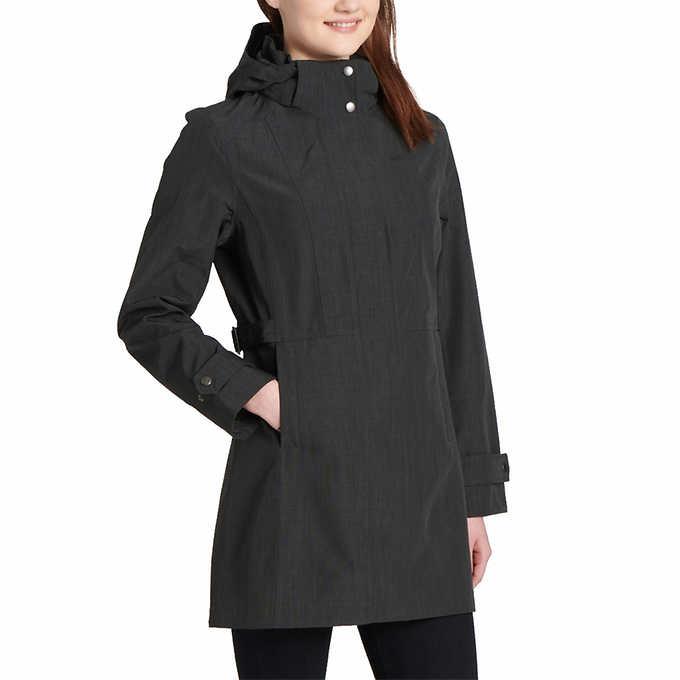 20779103d Kirkland Signature Ladies' Trench Rain Jacket