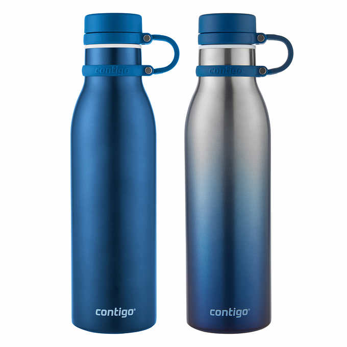 6d5b8902f6 Costco: Contigo Thermalock Stainless Steel 20 oz Water Bottle, 2-pack $9.99  https://www.costco.com/.product.100375748.html [Image: imageService?