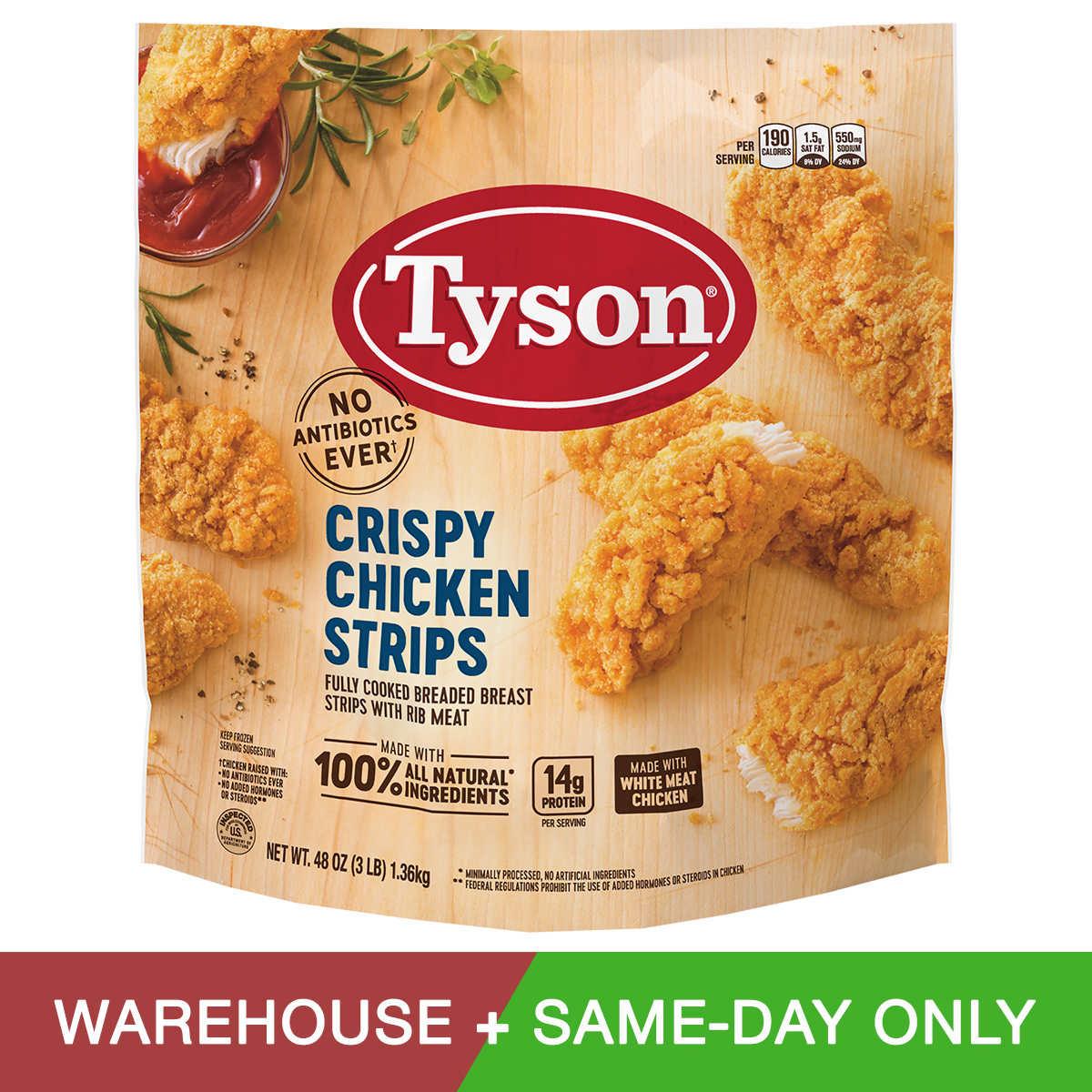 Tyson Crispy Chicken Strips, 48 oz