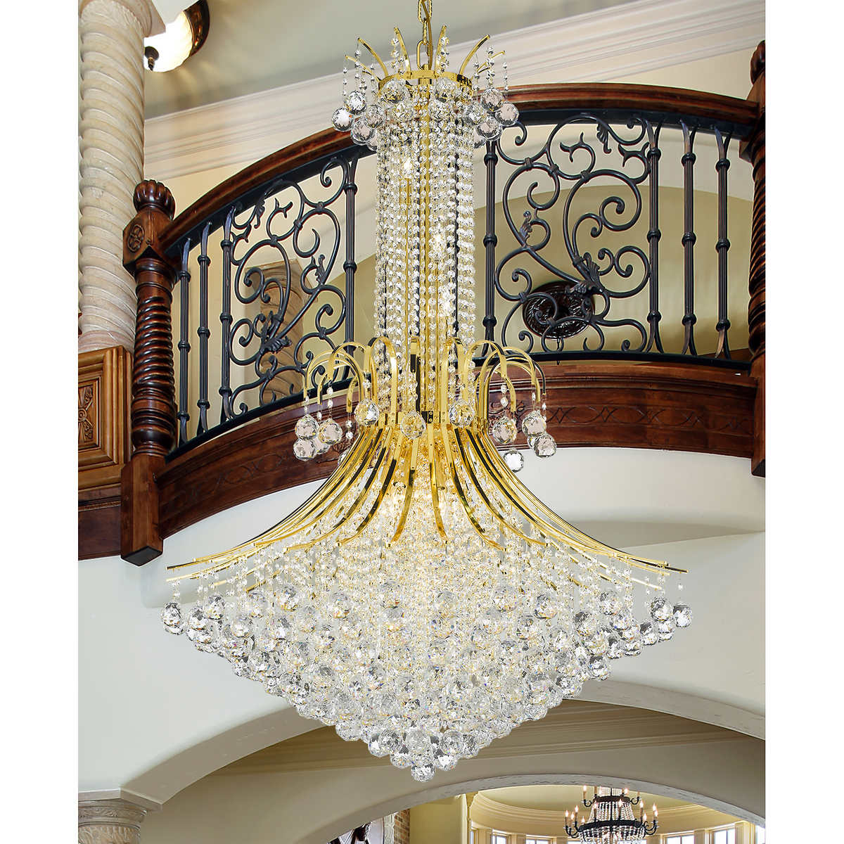 Lighting by pecaso contour chandelier 16 lights arubaitofo Choice Image