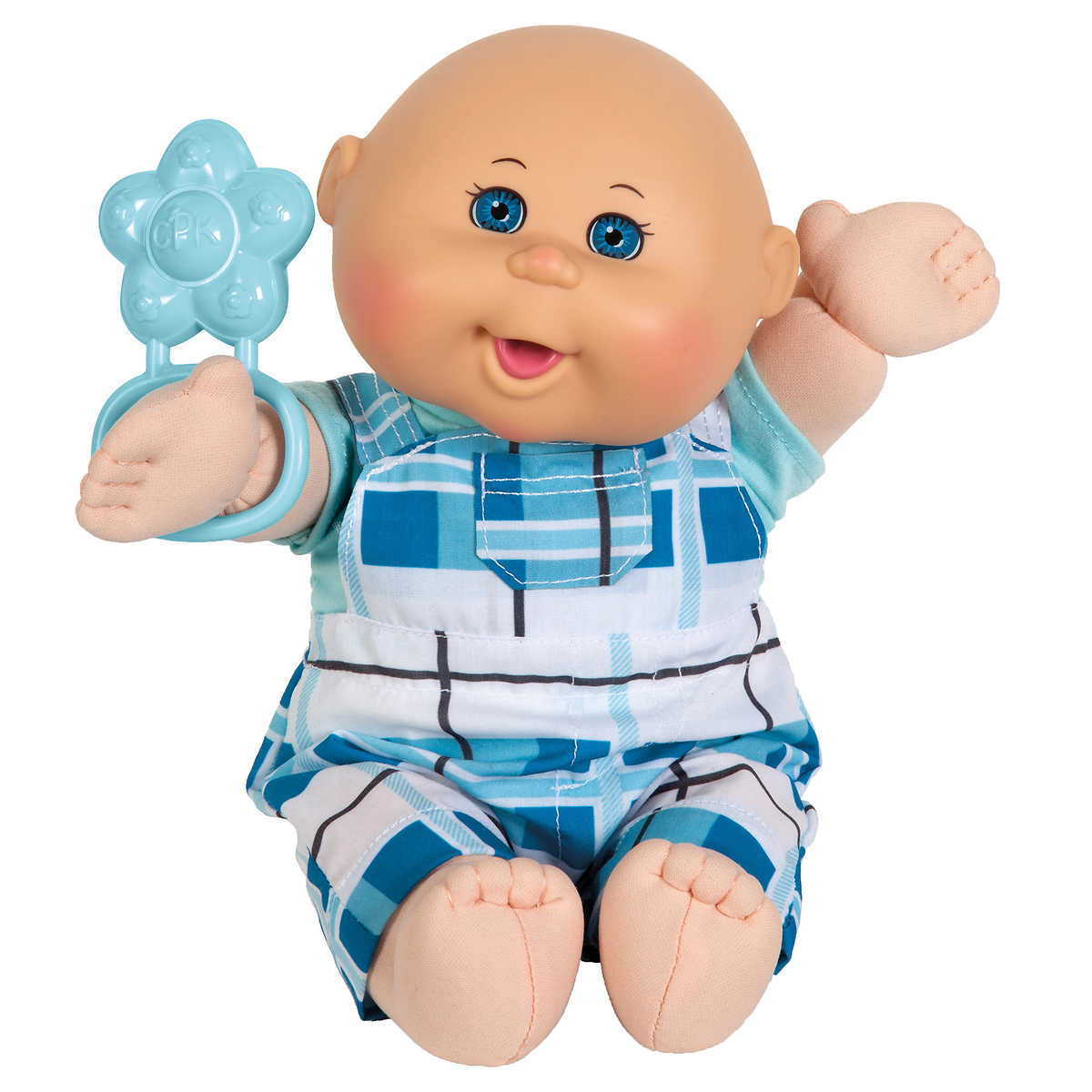 Cabbage Patch Naptime Baby Boy12 5 Blue Eyes Light Skin