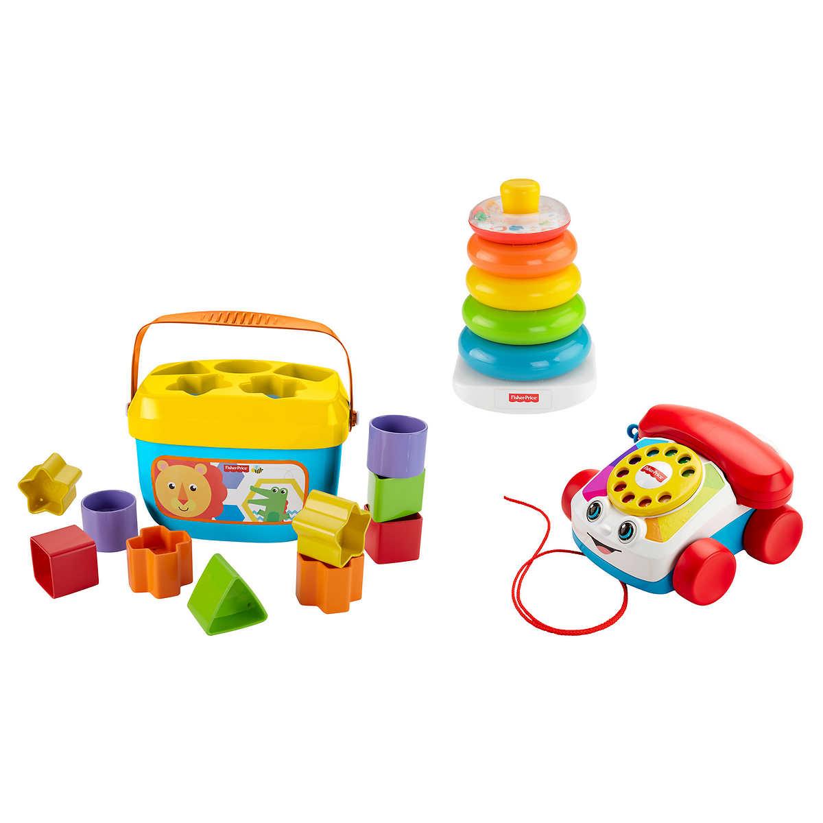 Fisher Price Playtime Classics Gift Set Baby Block 1